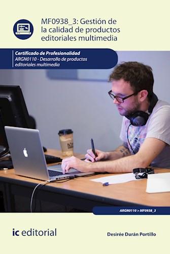 Papel Gestión De La Calidad De Productos Editoriales Multimedia. Argn0110 - Desarrollo De Productos Editor