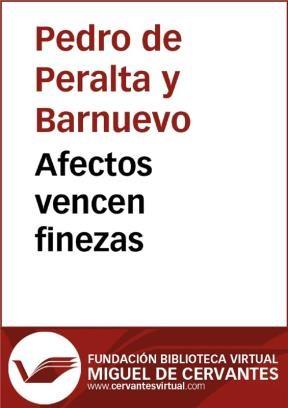 E-book Afectos Vencen Finezas