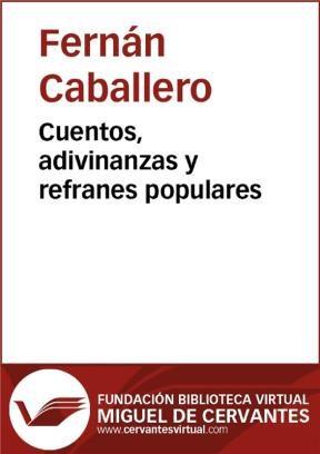 E-book Cuentos, Adivinanzas Y Refranes Populares