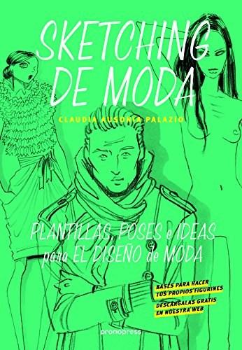 Libro Sketching De Moda