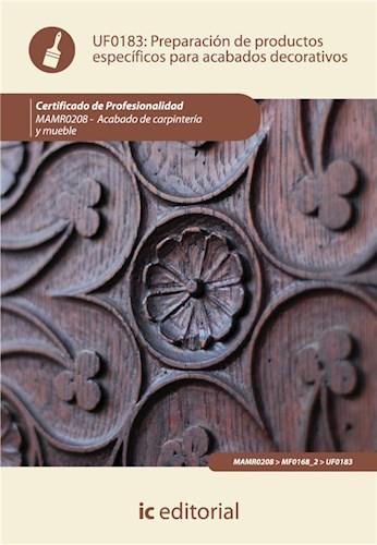 E-book Preparación De Productos Específicos Para Acabados Decorativos