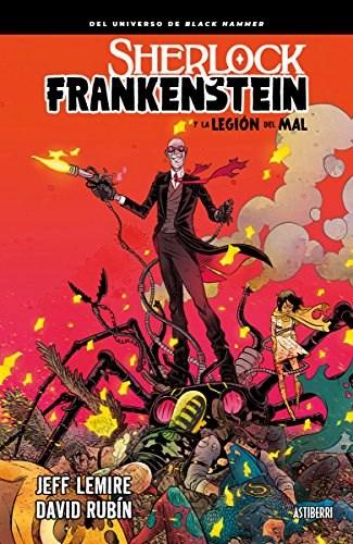 Papel Sherlock Frankenstein La Legion Del Mal