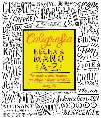 Libro Caligrafia Hecha A Mano A-Z.