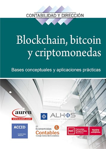 E-book Blockchain, bitcoin y criptomonedas. E-book.
