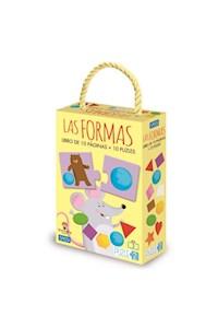 Papel Las Formas - Libro De 10 Piezas + 10 Puzle 2 Pc