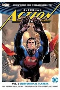 Papel Action Comic - Superman Vol 2