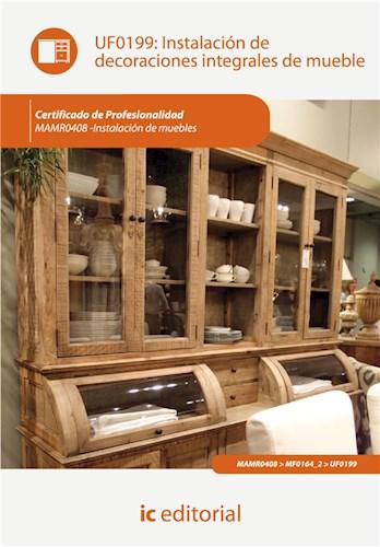 E-book Instalación De Decoraciones Integrales De Mueble. Mamr0408