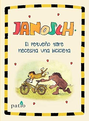 Libro El Pequeño Tigre Necesita Una Bicicleta