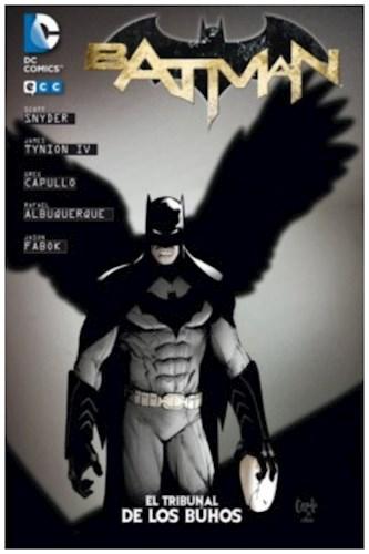 Batman De Snyder Y Capullo 01  El Tribunal De Los Búhos