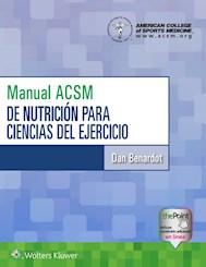 E-book Manual Acsm De Nutrición Para Ciencias Del Ejercicio