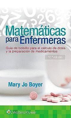 Papel Matemáticas para enfermeras Ed.5