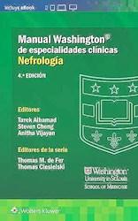 Papel Manual Washington De Especialidades Clínicas: Nefrología Ed.4