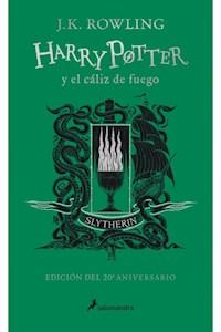 Papel Harry Potter 4 Caliz De Fuego - Slytherin