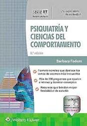 Papel Psiquiatría Y Ciencias Del Comportamiento (Serie Revisión De Temas) Ed.8
