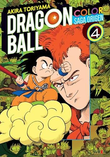Papel Dragon Ball Saga Del Origen A Color Vol. 4