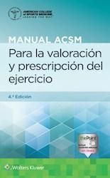 E-book Manual Acsm Para La Valoración Y Prescripción Del Ejercicio