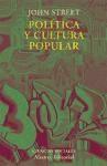 Libro Politica Y Cultura Popular