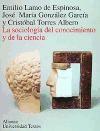 Papel SOCIOLOGIA DEL CONOCIMIENTO Y DE LA CIENCIA, LA