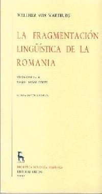 Papel La Fragmentacion Lingüistica De La Romania