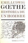 Papel GOETHE HISTORIA DE UN HOMBRE