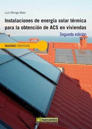 Libro Instalaciones De Energia Solar Termica