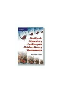 Papel Gestion De Alimentos Y Bebidas Para Hoteles, Bares Y Restaurantes