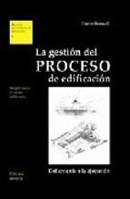 Libro La Gestion Del Proceso De Edificacion
