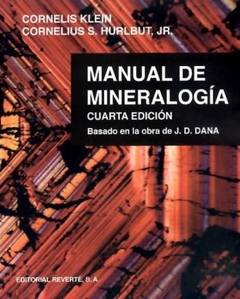 Libro Manual De Mineralogia ( Volumen 1 )