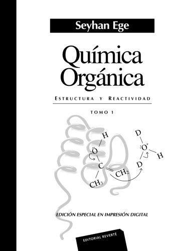 Libro Quimica Organica ( Tomo 1 )