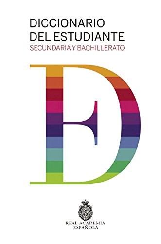 Papel DICCIONARIO DEL ESTUDIANTE SECUNDARIO Y BACHILLERATO (REAL ACADEMIA ESPAÑOLA) (CARTONE)