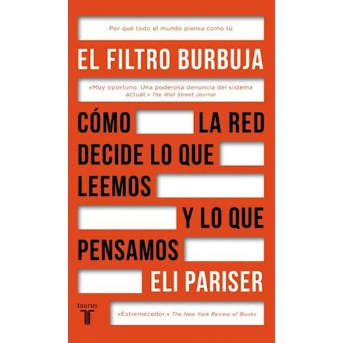 Papel EL FILTRO BURBUJA