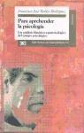Papel PARA APREHENDER LA PSICOLOGIA (UN ANALISIS HISTORICO EPISTEM