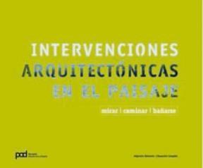 Papel INTERVENCIONES ARQUITECTONICAS EN EL PAISAJE