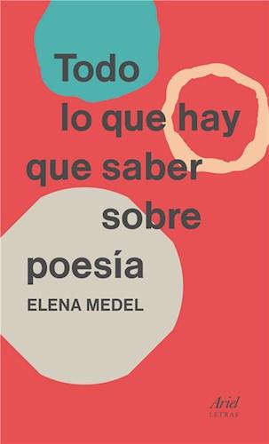 E-book Todo Lo Que Hay Que Saber Sobre Poesía