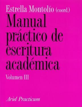 Papel Manual Practico De Escritura Academica Vol 3