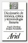 Papel DICCIONARIO DE RETORICA, CRITICA Y TERMIN