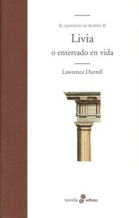Libro 2. Livia O Enterrado En Vida  El Quinteto De Aviñon
