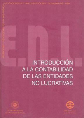 E-book Introducción A La Contabilidad De Las Entidades No Lucrativas
