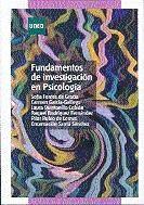 Papel FUNDAMENTOS DE INVESTIGACION EN PSICOLOGIA
