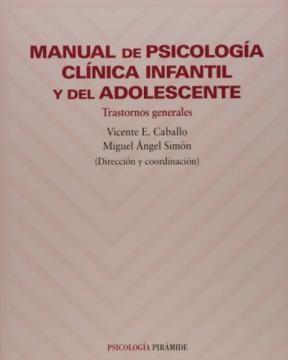 Papel MANUAL DE PSICOLOGIA CLINICA INF Y DEL ADOLES (TRAST GRALES)