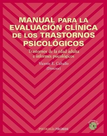 Test MANUAL PARA LA EVALUACION CLINICA DE LOS TRASTORNOS PSICOLOG