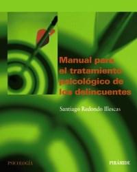 Papel MANUAL PARA EL TRATAMIENTO PSICOLOGICO DE LOS DELINCUENTES