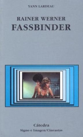 Libro Rainer Werner Fassbinder