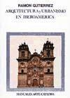 Papel Arquitectura Y Urbanismo En Iberoamerica