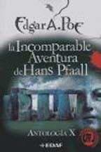 Libro X. La Incomparable Aventura De Hans Pfaall  Antologia