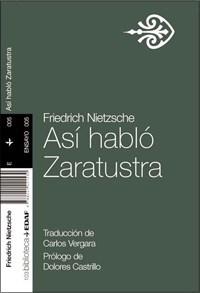 Asi Hablo Zaratustra Por Nietzsche Friedrich 9788441421530