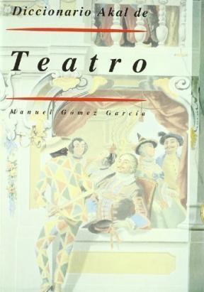 Papel Diccionario Akal De Teatro
