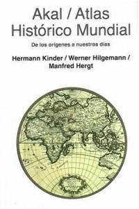 Libro Atlas Akal Historico Mundial