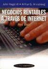 Papel Negocios Rentables A Traves De Internet