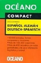Papel OCEANO COMPACT ESPAÑOL-ALEMAN-DEUTSCH-SPANISCH